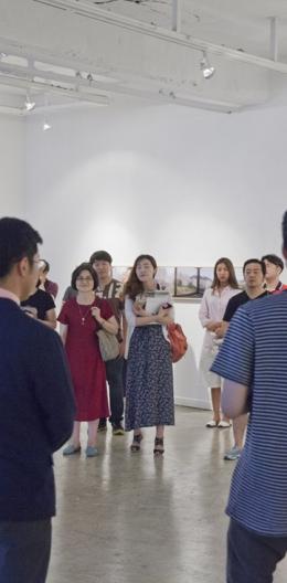 """GAZE / 경계의 순간, 초원의 시간"" 윤도영_오민욱 2인展"